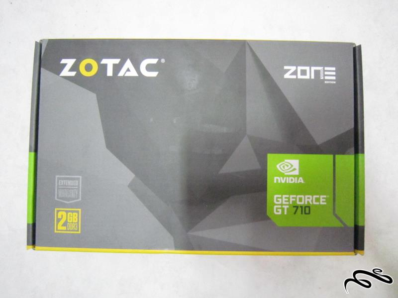 کارتن Zotac Geforce GT710 2GB DDR3 64bit